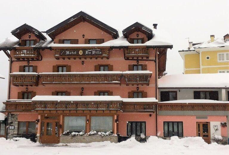 Da Villa - zasnežený hotel