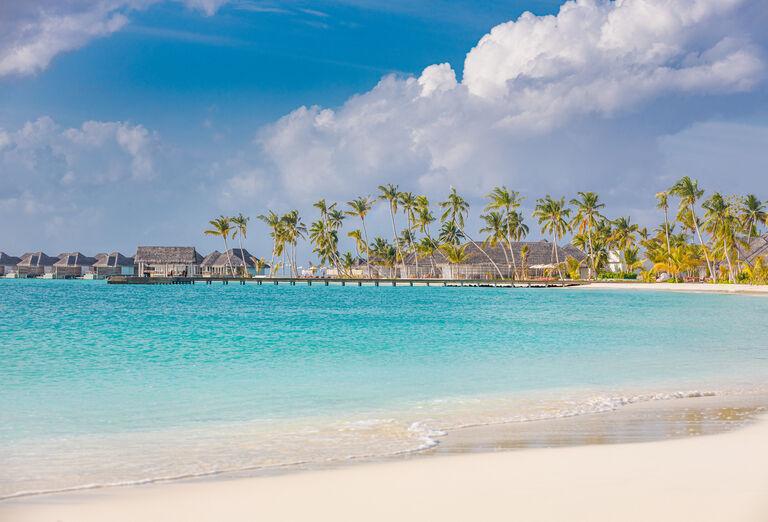 Pláž Hotel Sun Siyam Iru Veli *****