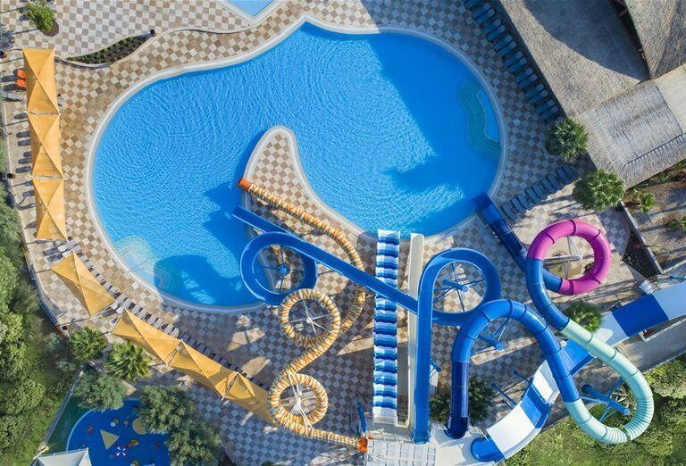 Vodný svet s bazénom v hoteli Noah´s Ark Deluxe Hotel