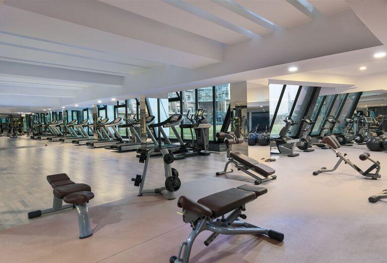 Fitnes v hoteli Noah´s Ark Deluxe Hotel