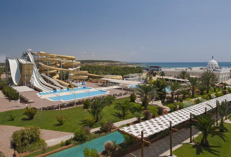 Tobogánový svet v hoteli Kaya Artemis