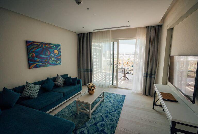 Izba s terasou v hoteli Limak Cyprus