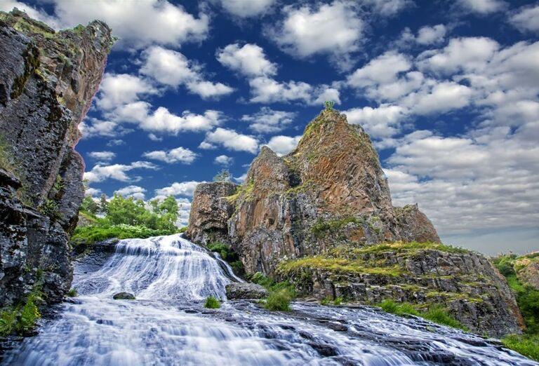 Za krásami Arménska- vodopády