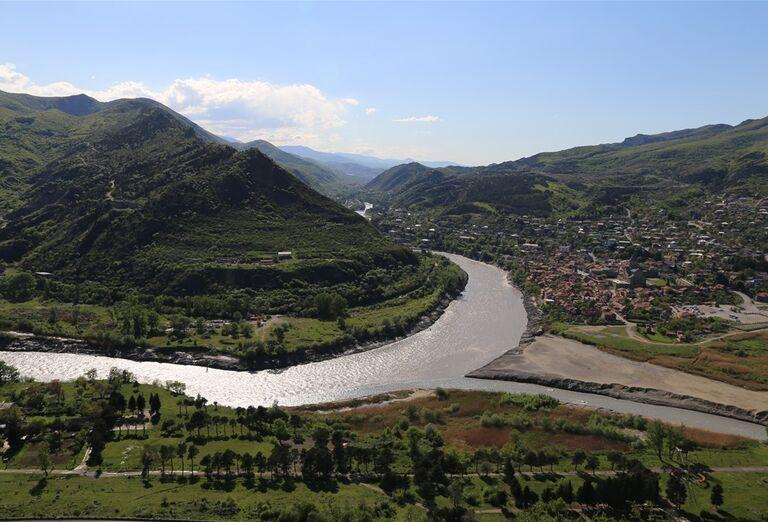 Západné Gruzínsko - Pohľad na mesto