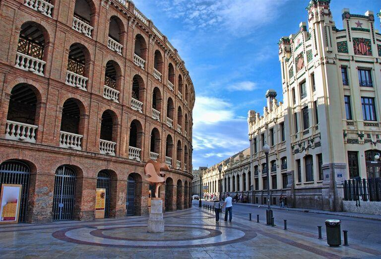 Galéria Valencia - mesto paelly