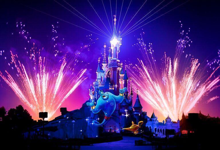 Ohňostroje, Paríž & Disneyland