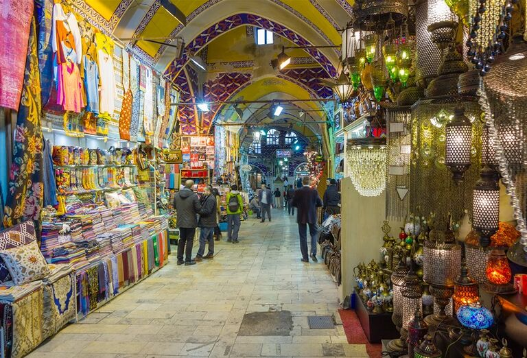 Istanbul - brána Orientu- trhy
