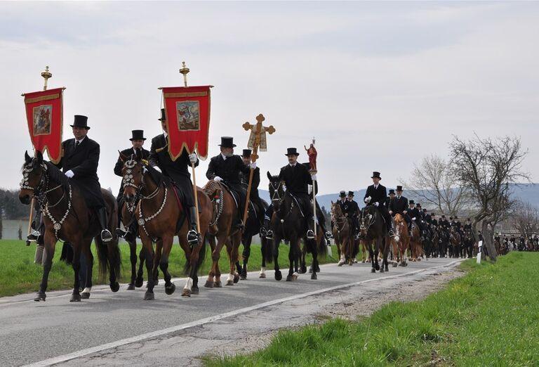 Veľká noc u lužických Srbov - sprievod