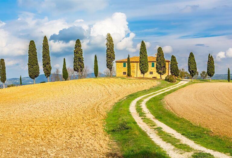 Príroda - Toskansko, poznávací zájazd, Taliansko