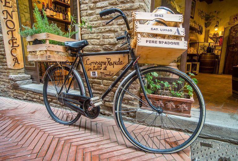 Bicykel- poznávací zájazd, Taliansko