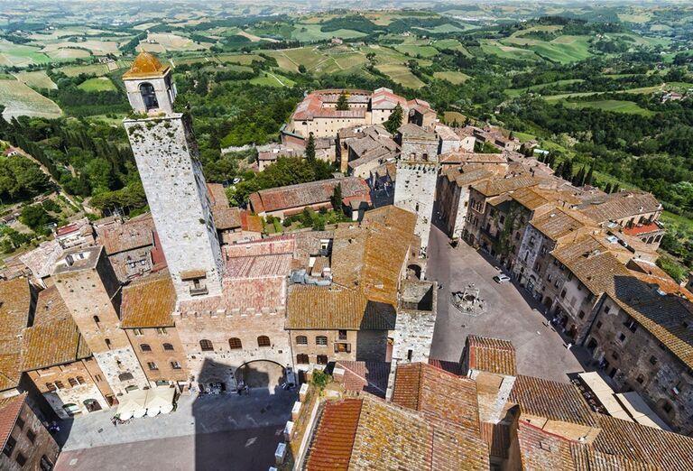 Mesto poznávací zájazd, Taliansko