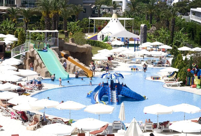 Detský bazén v hoteli Miracle Resort