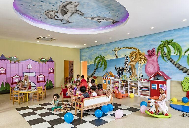 Herňa pre deti v hoteli Miracle Resort