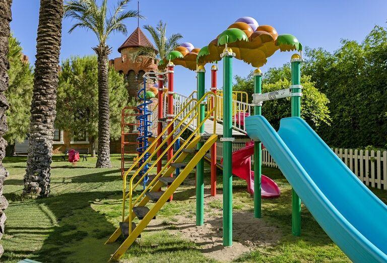 Detské atrakcie v hoteli Miracle Resort