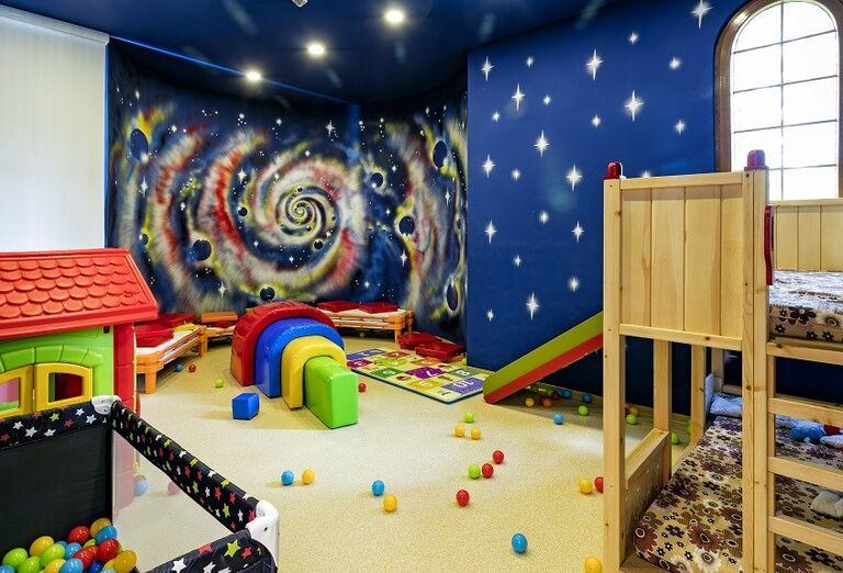 Detská herňa v hoteli Miracle Resort