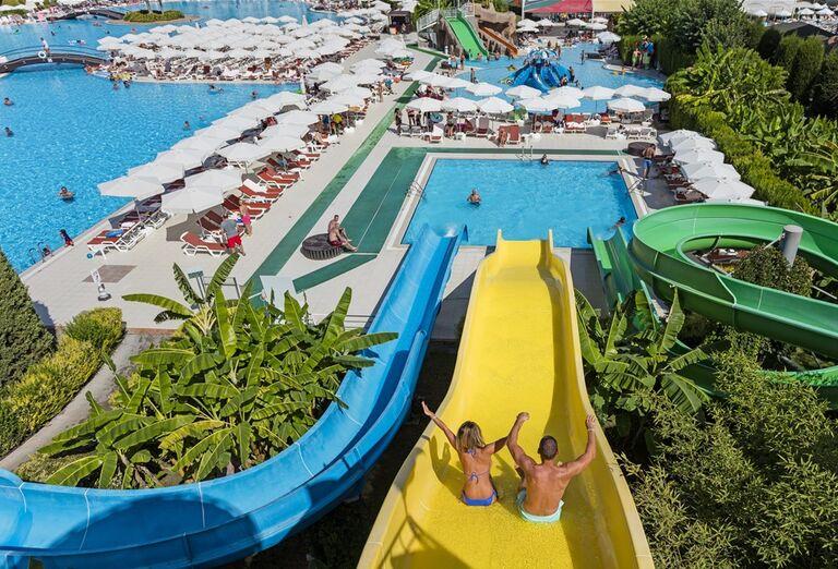 Vodný svet v hoteli Miracle Resort