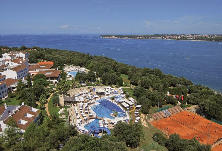 Areál hotela Valamar Club Tamaris