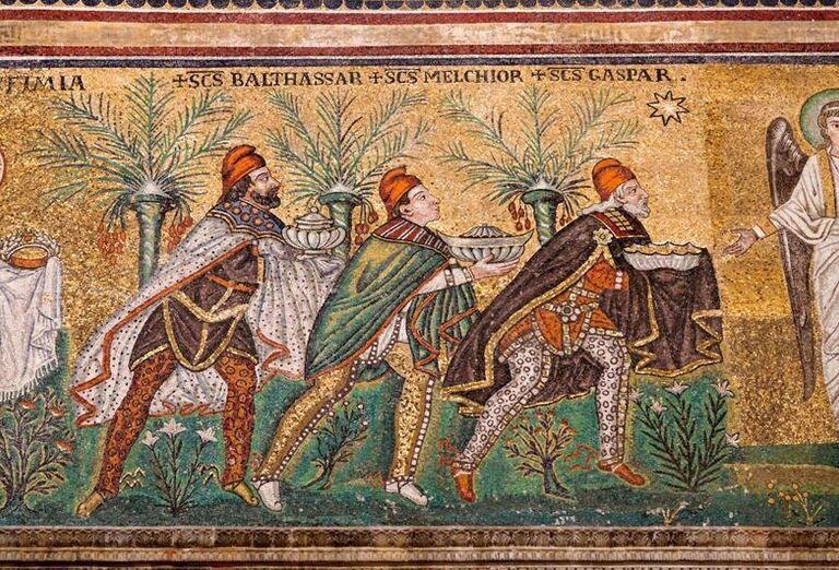Bologna & Ravenna & Padova - kresby na stene