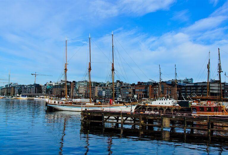 Prístav v Osle