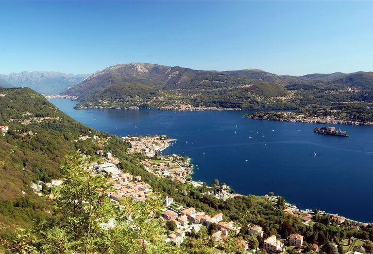 Najkrajšie jazerá Talianska a Švajčiarska