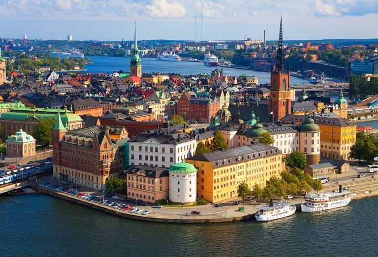 Pohľad na Kodaň