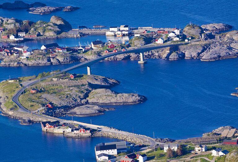 Nórsko za polárny kruh - mesto