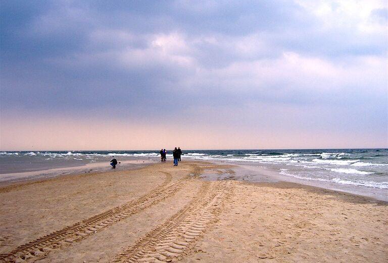 Veľký okruh Dánskom - Piesočnatá pláž
