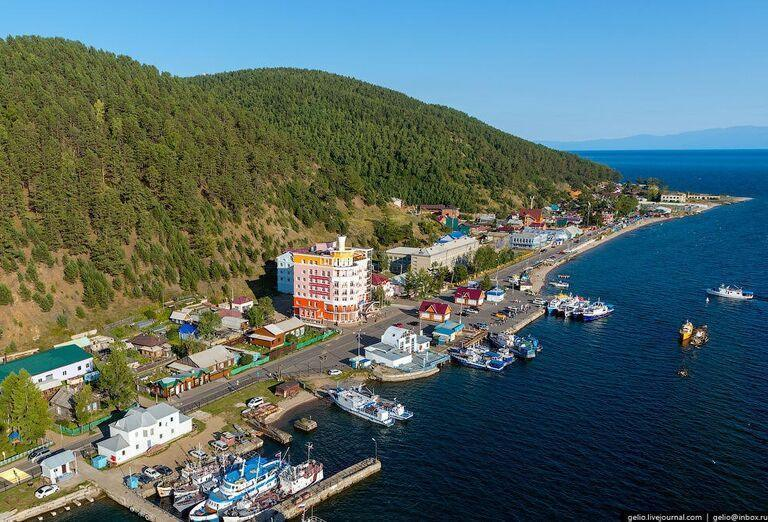 Irkutsk a Bajkalské jazero - pohľad na jazero