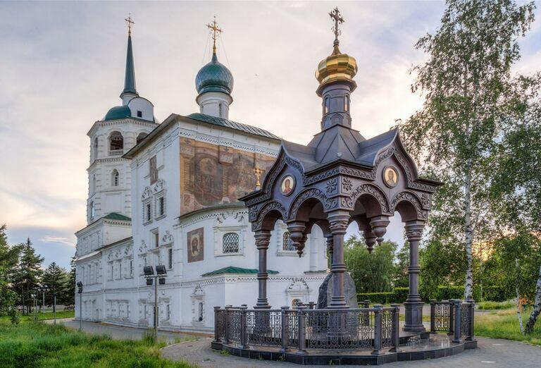 Irkutsk a Bajkalské jazero - pamiatky