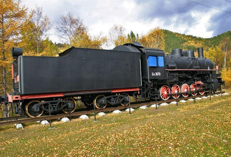 Irkutsk a Bajkalské jazero - train