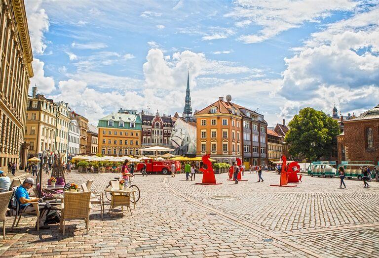 Riga - námestie