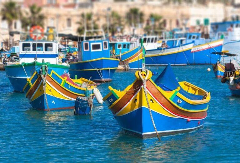 Malta a Gozo- prístav