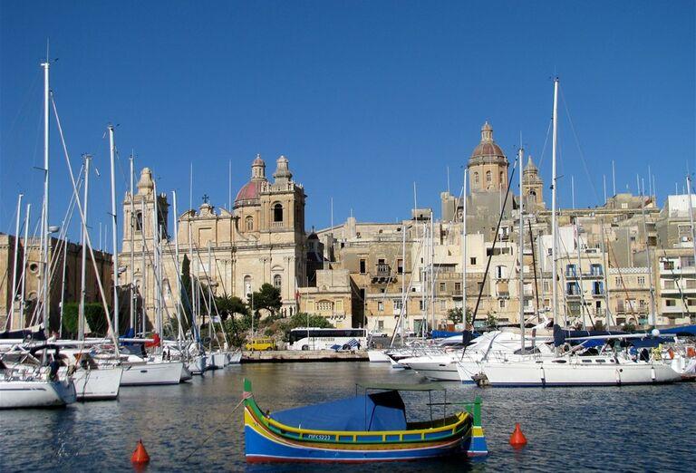 Malta a Gozo- pohľad na mesto