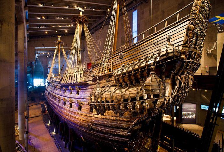 Loď z dreva - pamiatky - Škandinávia
