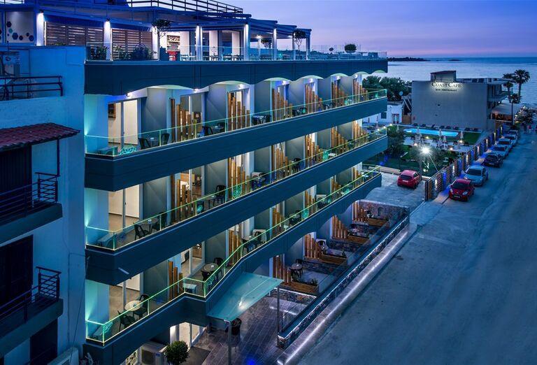 Areál hotela Infinity Blue, Grécko, Kréta, Hersonissos