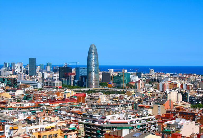 Barcelona, poznávací zájazd, Španielsko- pohľad na mesto