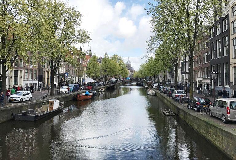 Rieka v Amsterdame