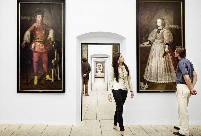 Vianočné trhy, poznávacie zájazdy Rakúsko- obrazy a umenie