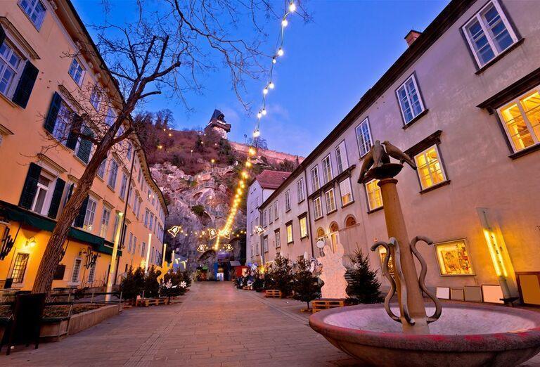 Graz - zimná rozprávka