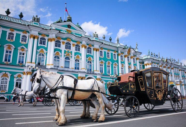 Galéria Zámky Petrohradu