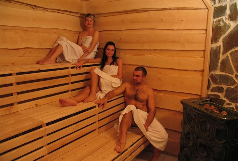 Fínska sauna, hotel Toliar, Štrbské Pleso