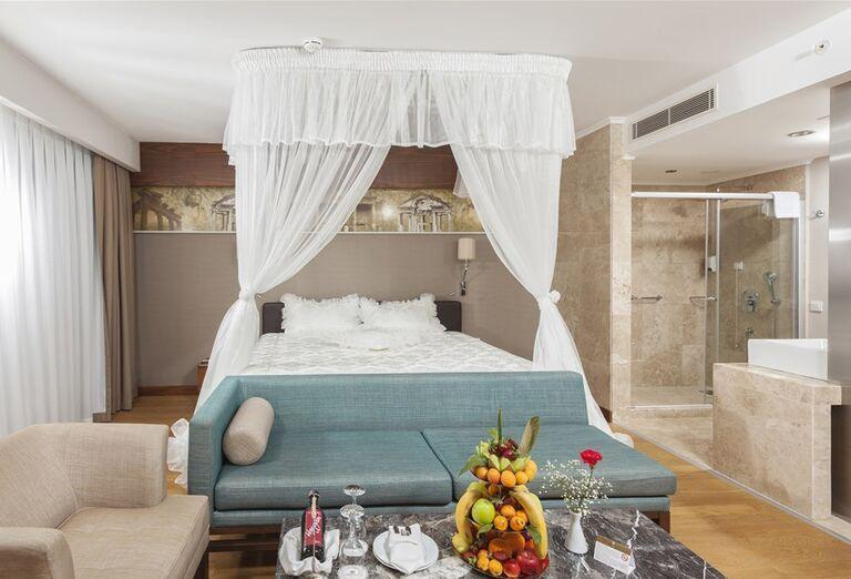 Izba s výhľadom na more v hoteli Sheraton Jumeirah Beach Resort