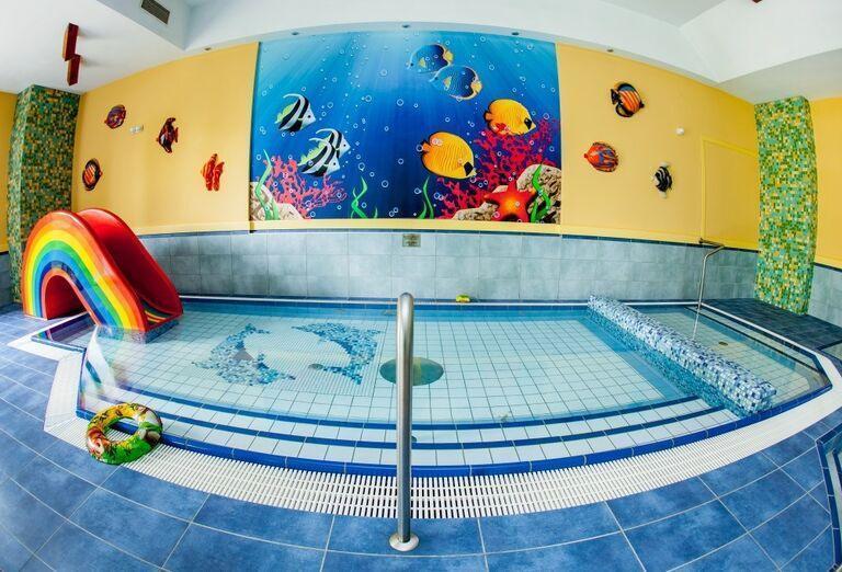 Detský bazén, hotel Patria, Štrbské Pleso