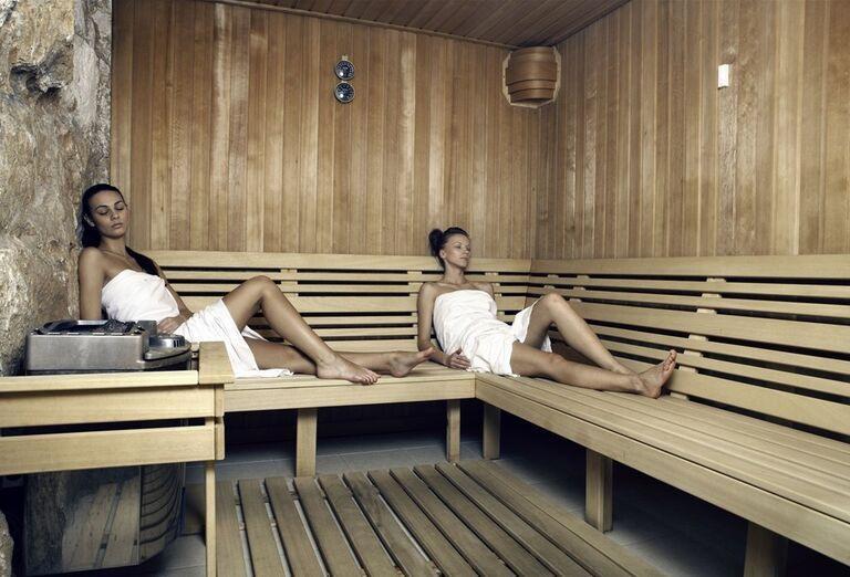 Suchá sauna, hotel Patria, Štrbské Pleso