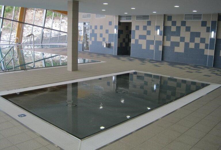 Vnútorný bazén hotela Sorea Trigan