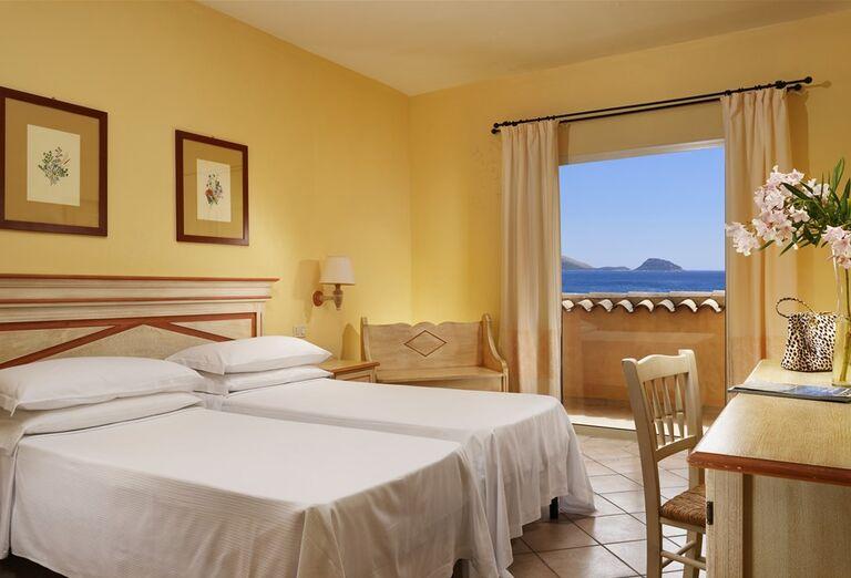 Izba s výhľadom na more v hoteli VOI Colonna Beach