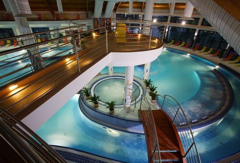Vnútorné bazény, Wellness Hotel Patince