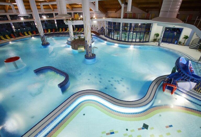Vnútorný bazén, Wellness Hotel Patince