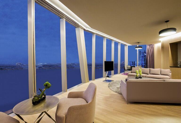 Interiér hotela Rixos Premium Dubai