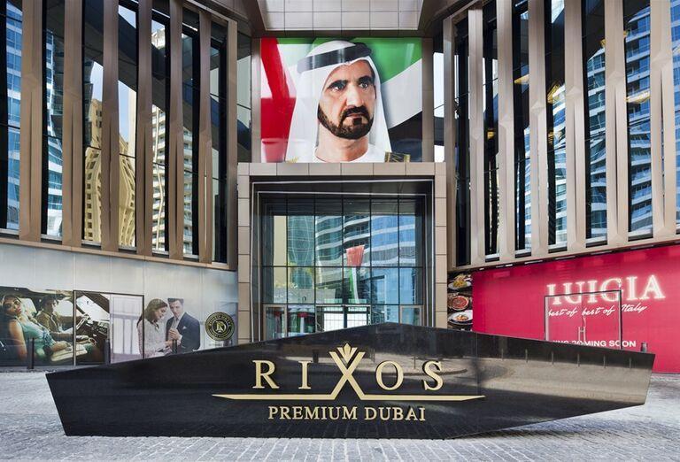 Vchod do hotela Rixos Premium Dubai